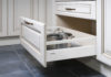 Furniture of the classic italian kitchen