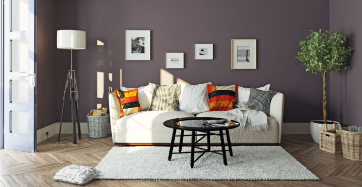 48937823 - modern living room  interior.3d design concept