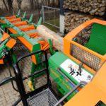 SpaltFix S-410 Vario to maszyna typu trzy w jednym, która przecina  i rozłupuje drewno opałowe oraz umożliwia produkcję drewna  podpałkowego.