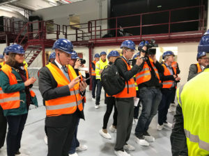Otwarcie nowej linii lakierniczej w Leutkirch