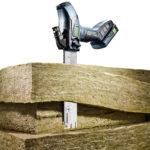 Akumulatorowa pilarka do materiałów izolacyjnych ISC 240 Festool będzie dostępna na rynku od maja 2018.