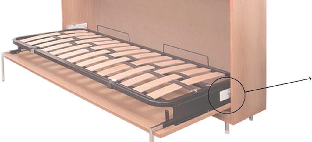 łóżko W Szafie 4woodi